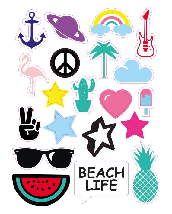 Sticker Beach