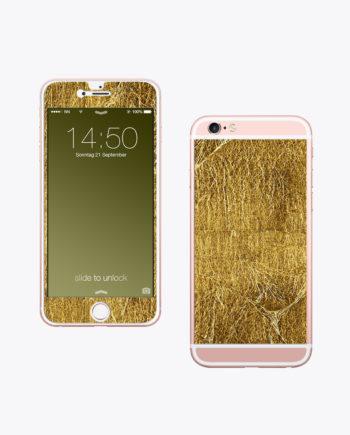Handy Folie Gold Luxus Accessoire