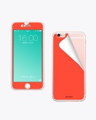 Handy Folie Neon Orange zum aufkleben