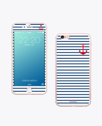 Handy Folie Stripes schützt dein Handy vor Sand.
