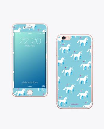 Handy Folie Unicorn ist für den Sommer das richtige Accessoire