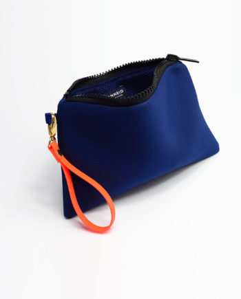 Neopren Clutch Navy Blue
