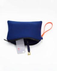 Neopren Clutch Navy Blue