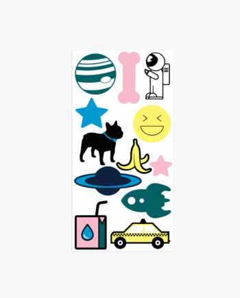 Sticker Set Astronaut